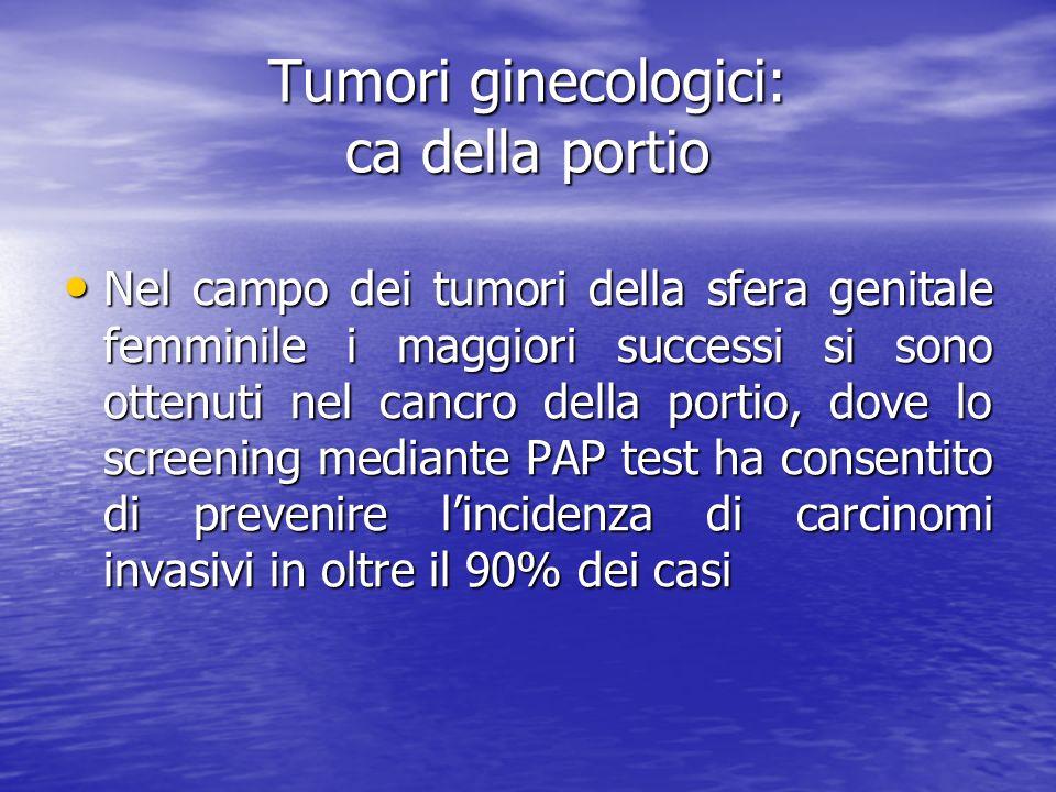 Tumori ginecologici: ca della portio