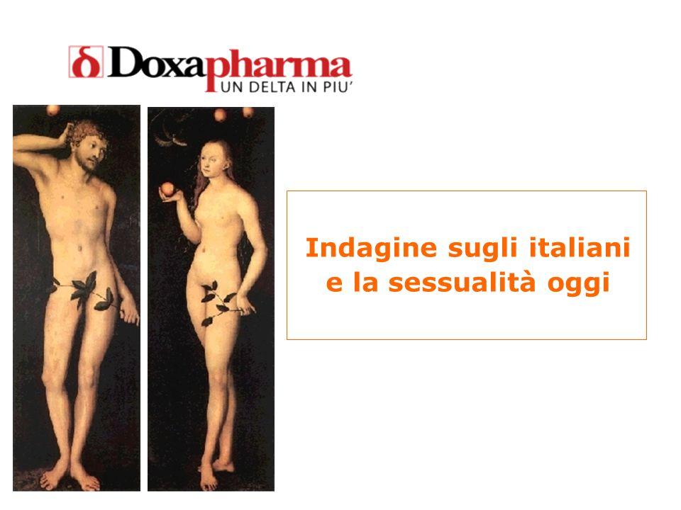 Indagine sugli italiani e la sessualità oggi