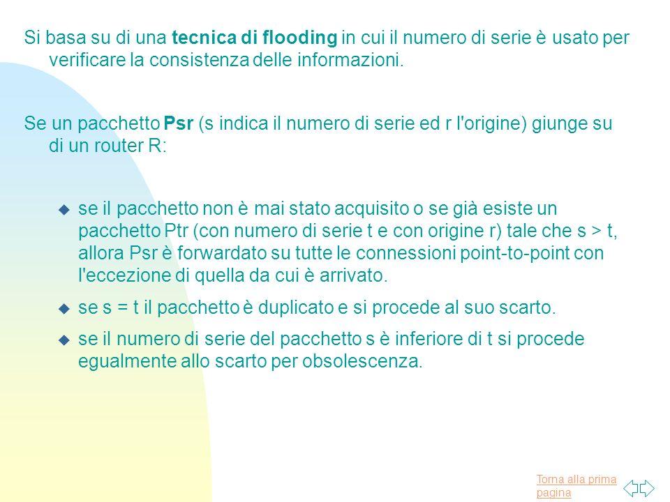 Si basa su di una tecnica di flooding in cui il numero di serie è usato per verificare la consistenza delle informazioni.