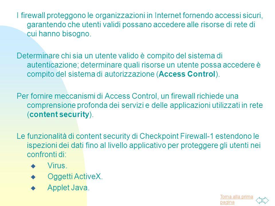I firewall proteggono le organizzazioni in Internet fornendo accessi sicuri, garantendo che utenti validi possano accedere alle risorse di rete di cui hanno bisogno.