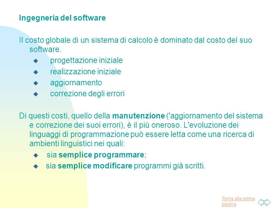 Ingegneria del software