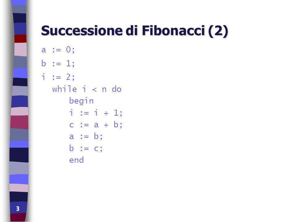 Successione di Fibonacci (2)