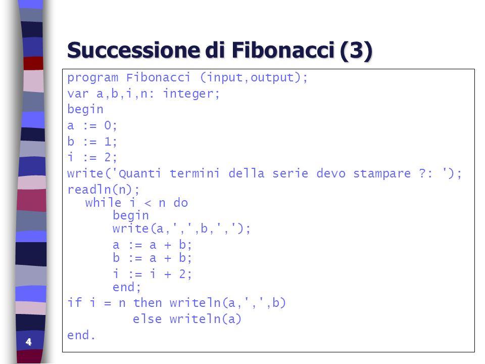 Successione di Fibonacci (3)