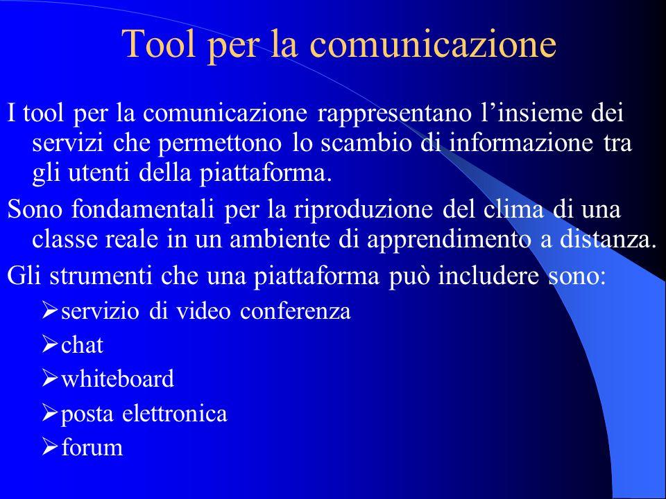 Tool per la comunicazione