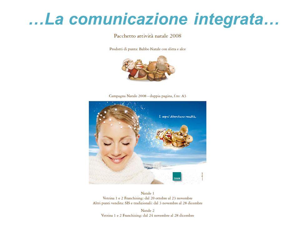 …La comunicazione integrata…