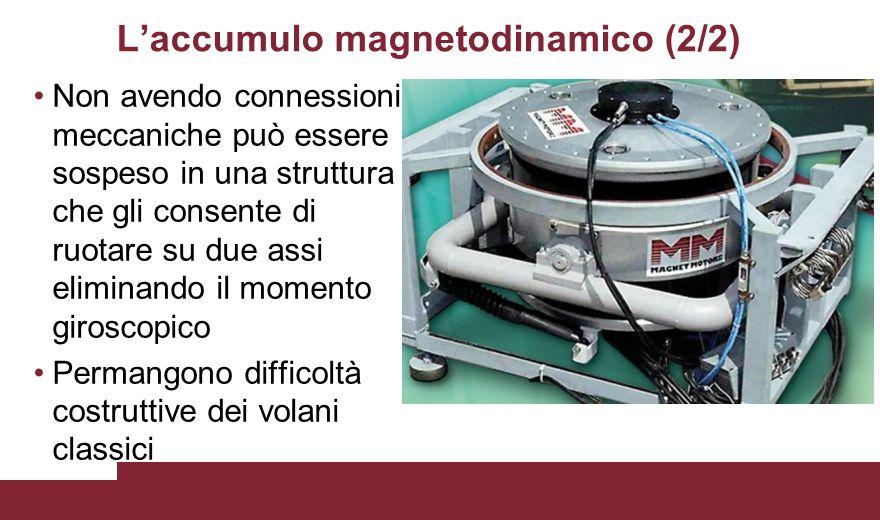 L'accumulo magnetodinamico (2/2)
