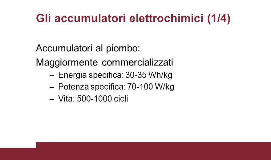 Gli accumulatori elettrochimici (1/4)