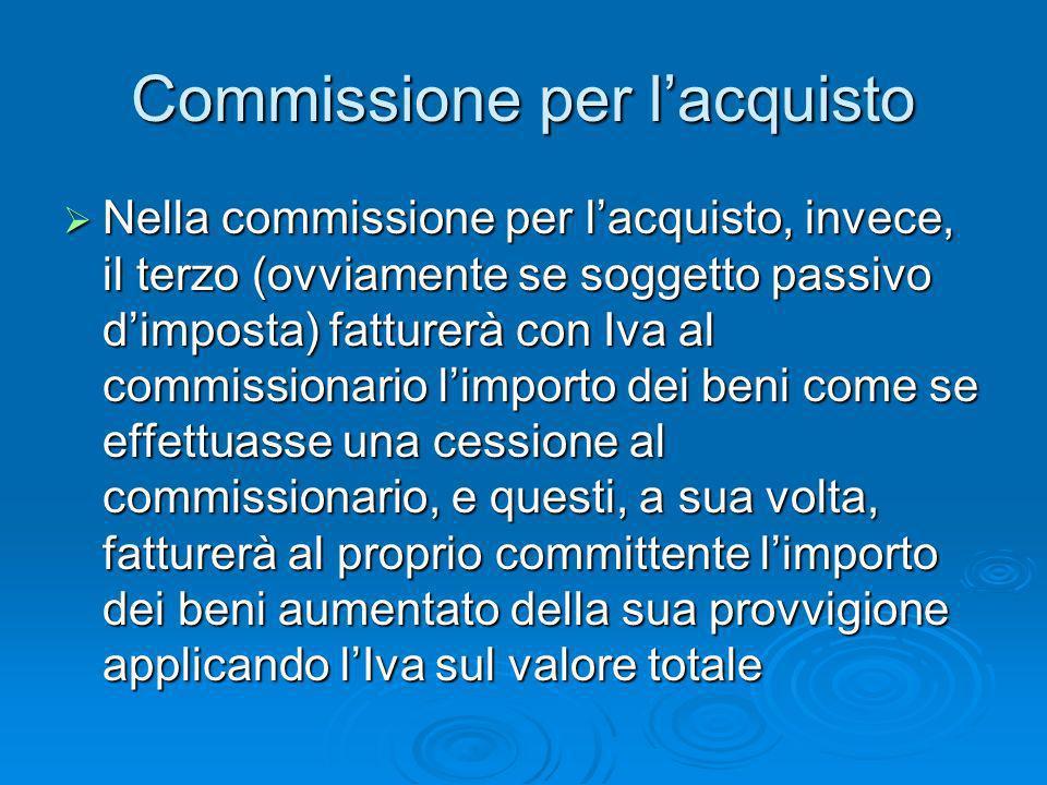 Commissione per l'acquisto