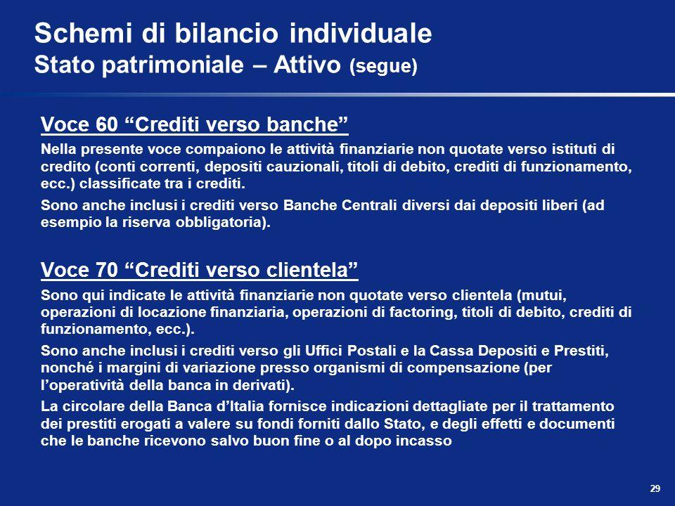 Agenda normativa di riferimento disposizioni generali ppt scaricare - Crediti diversi in bilancio ...
