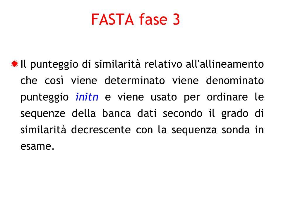 FASTA fase 3