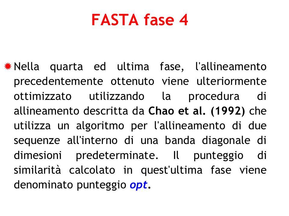 FASTA fase 4