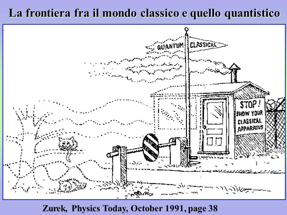La frontiera fra il mondo classico e quello quantistico