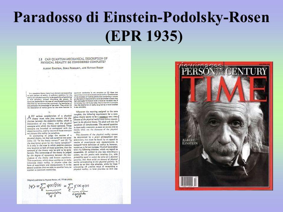 Paradosso di Einstein-Podolsky-Rosen