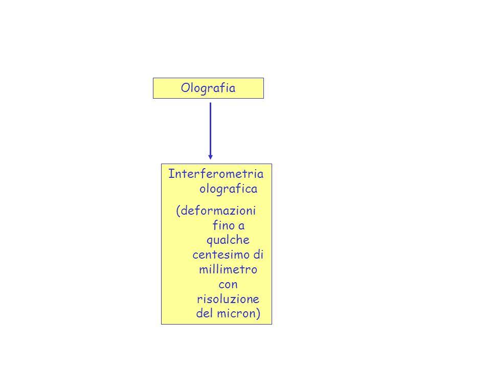 Interferometria olografica