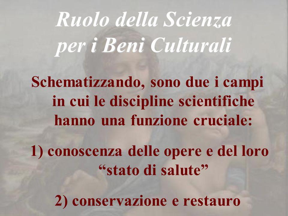 Ruolo della Scienza per i Beni Culturali