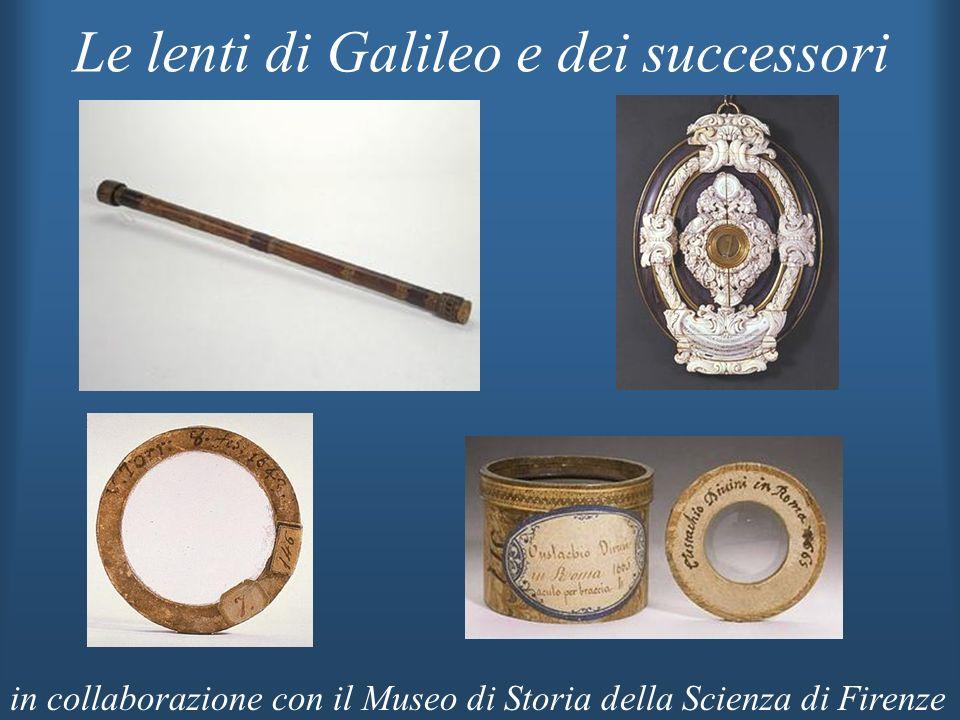 Le lenti di Galileo e dei successori