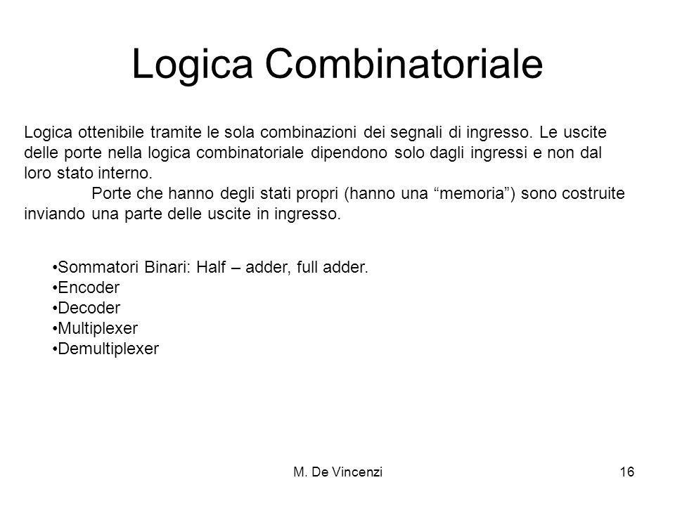 Logica Combinatoriale