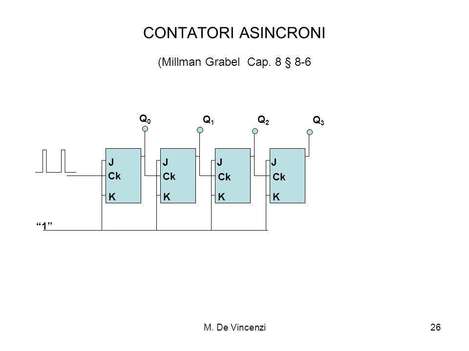 CONTATORI ASINCRONI (Millman Grabel Cap. 8 § 8-6