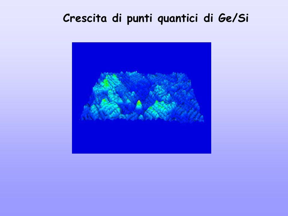 Crescita di punti quantici di Ge/Si