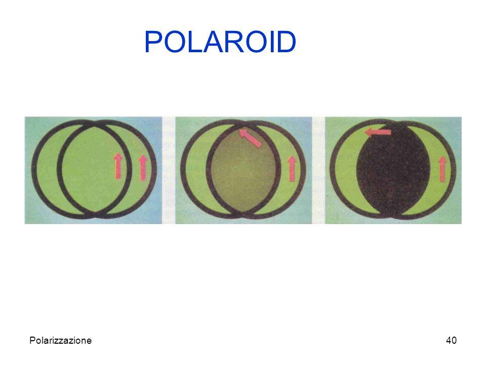 POLAROID Polarizzazione
