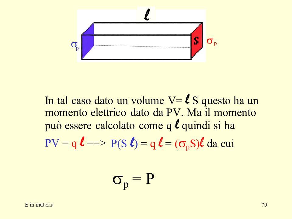 P(S l) = q l = (spS)l da cui