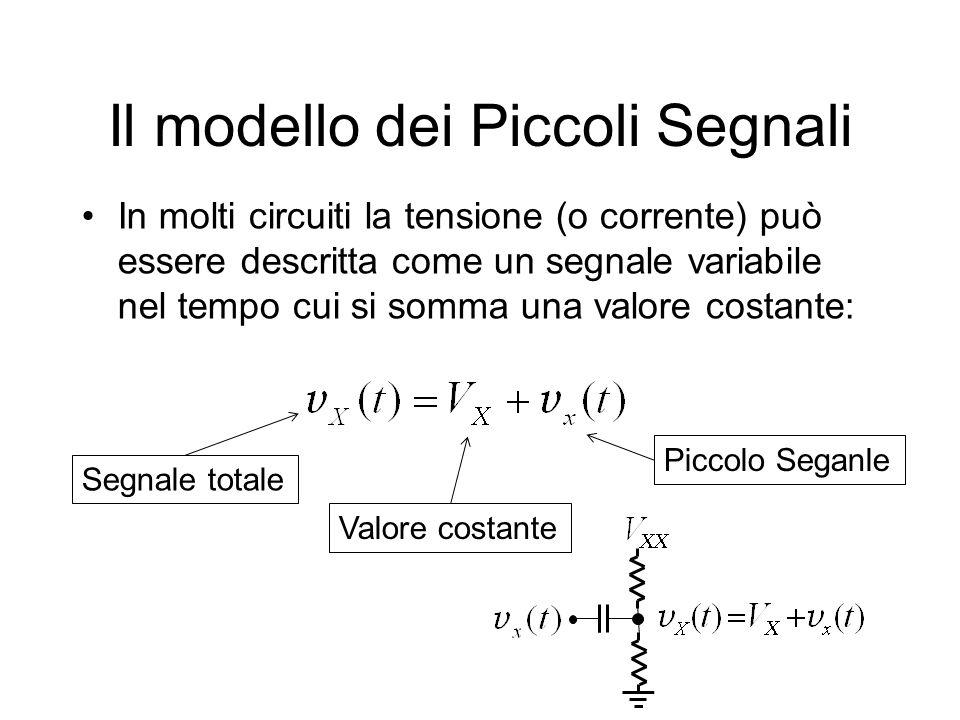 Il modello dei Piccoli Segnali