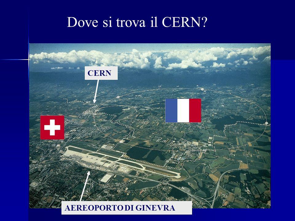 Dove si trova il CERN CERN AEREOPORTO DI GINEVRA