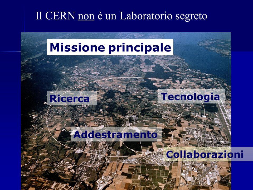 Il CERN non è un Laboratorio segreto