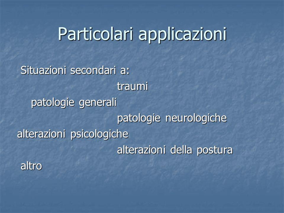 Particolari applicazioni
