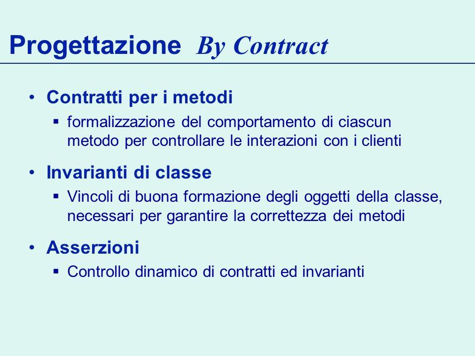 Progettazione By Contract