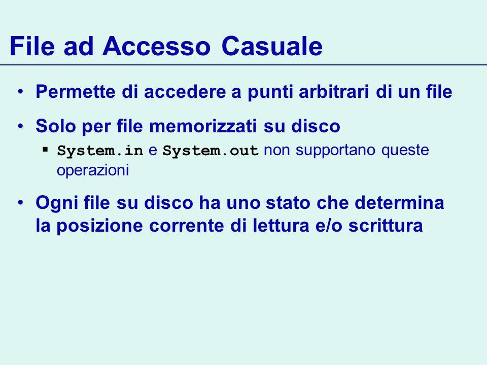 File ad Accesso Casuale