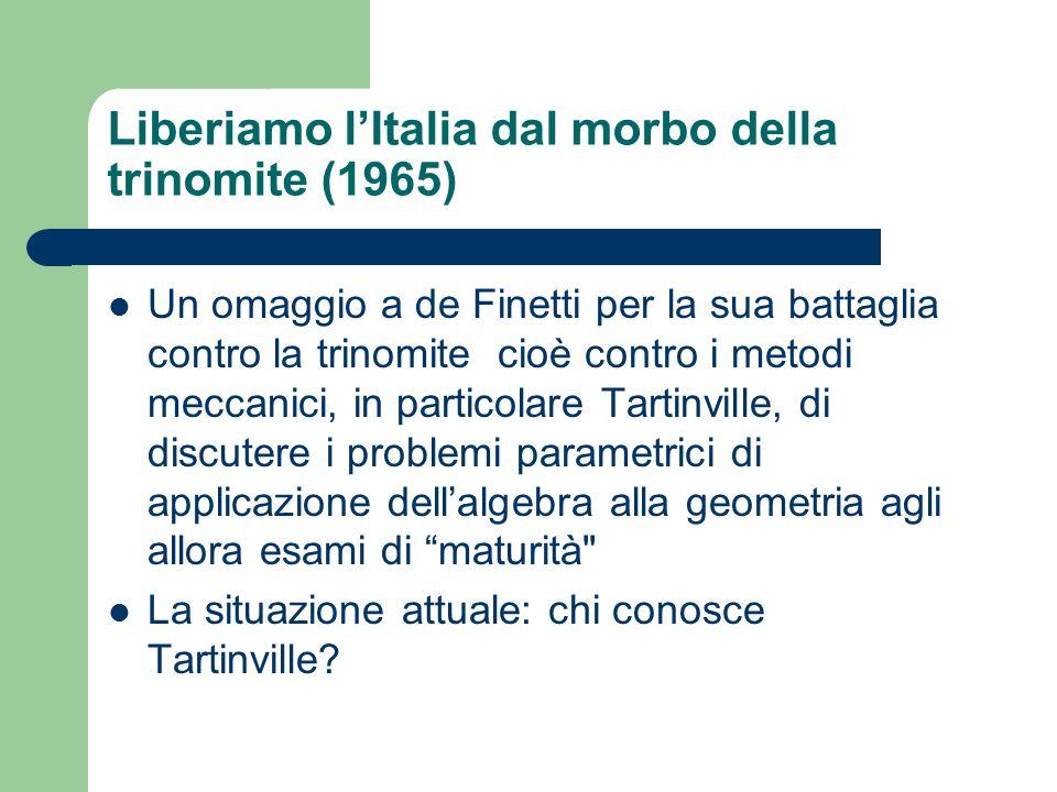 Liberiamo l'Italia dal morbo della trinomite (1965)
