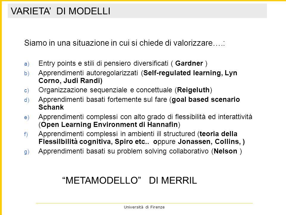 METAMODELLO DI MERRIL
