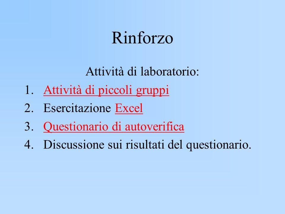 Attività di laboratorio: