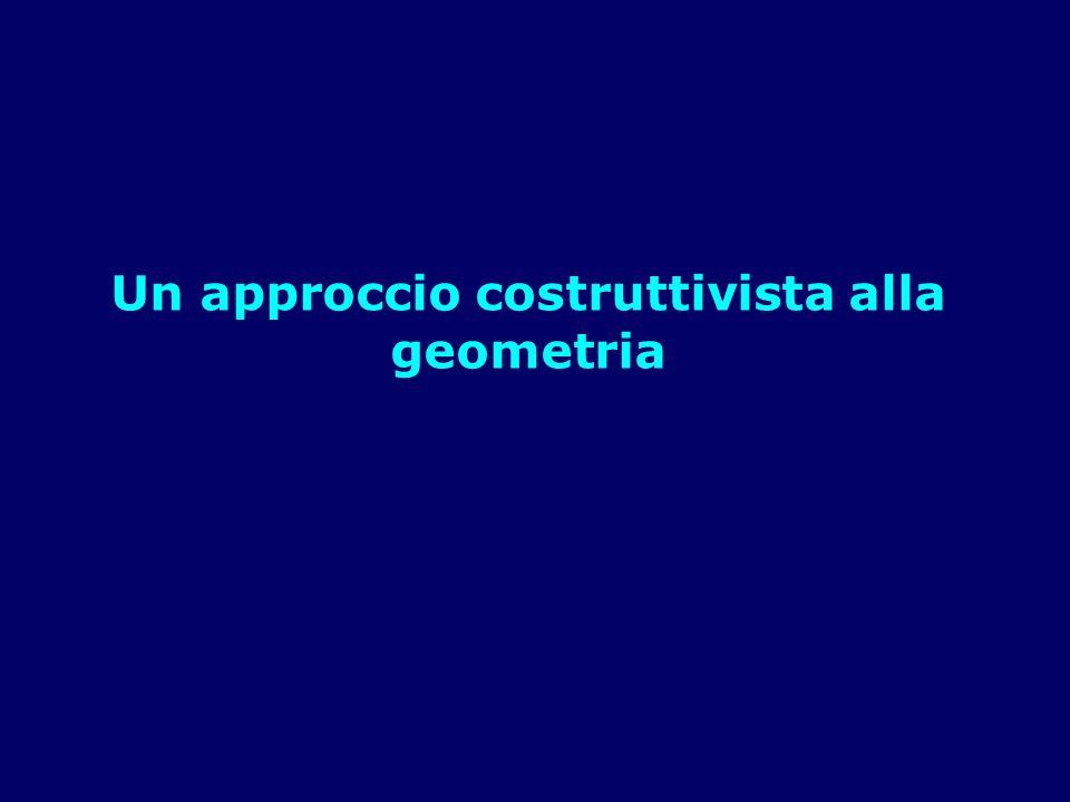 Un approccio costruttivista alla geometria