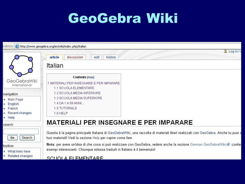 GeoGebra Wiki