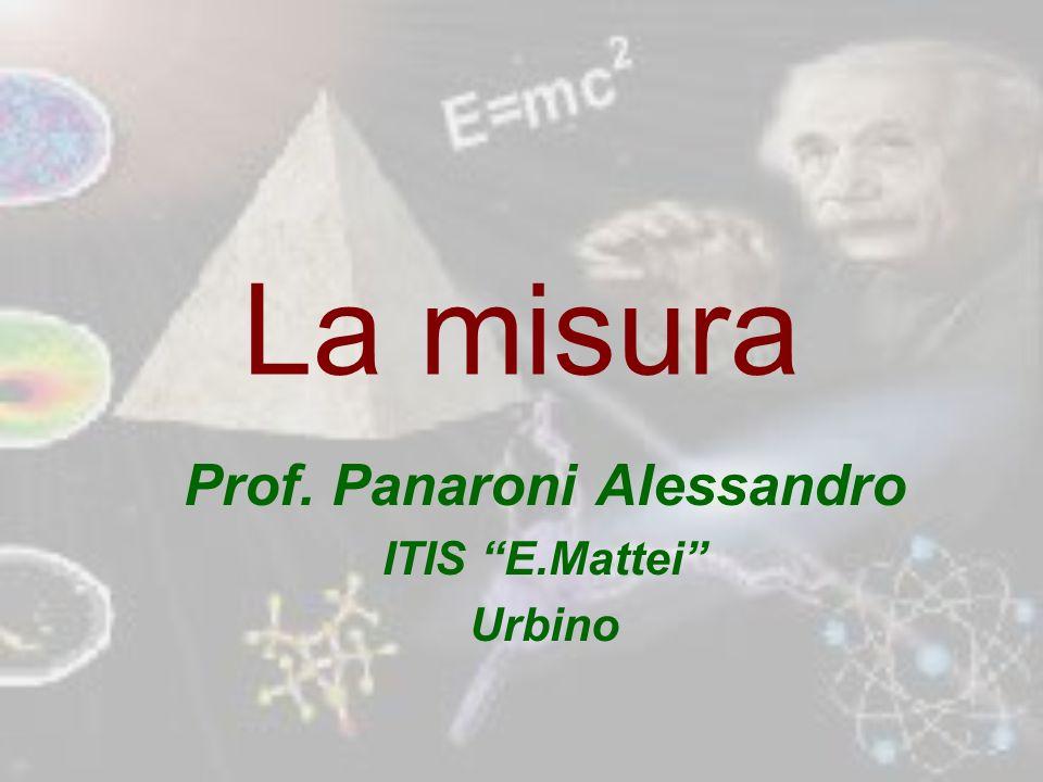 Prof. Panaroni Alessandro ITIS E.Mattei Urbino