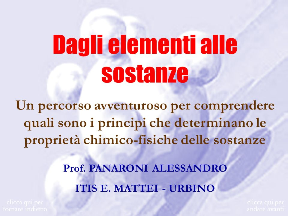 Prof. PANARONI ALESSANDRO