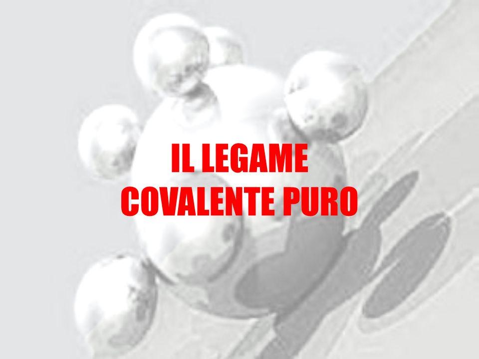IL LEGAME COVALENTE PURO