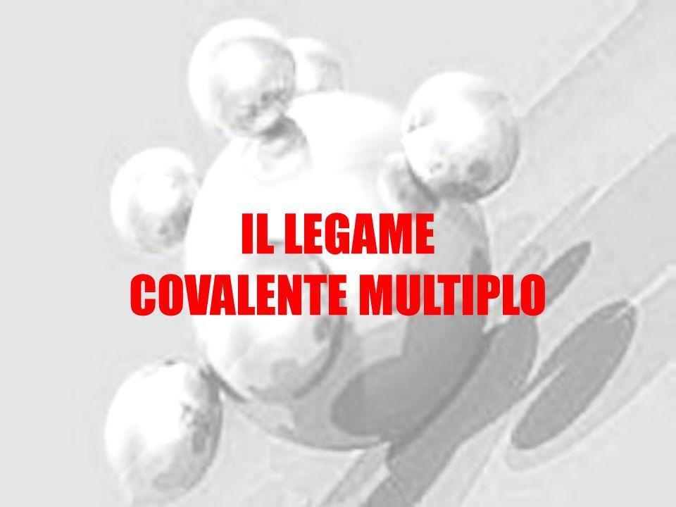IL LEGAME COVALENTE MULTIPLO