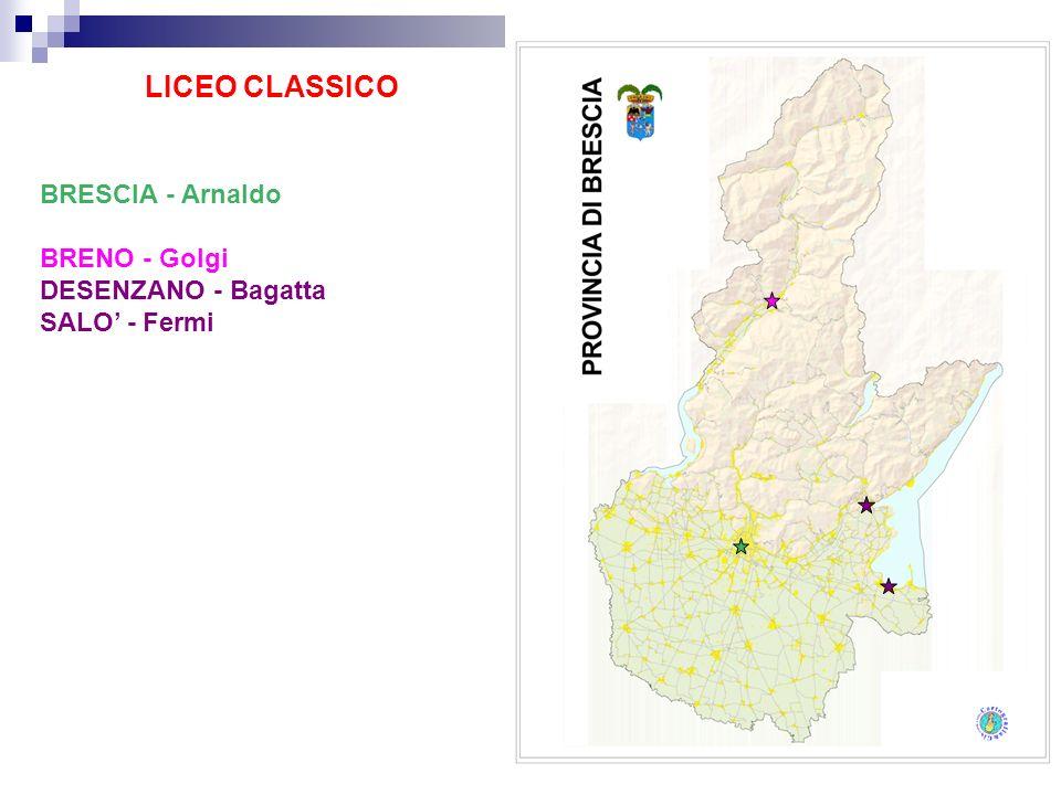 LICEO CLASSICO BRESCIA - Arnaldo BRENO - Golgi DESENZANO - Bagatta