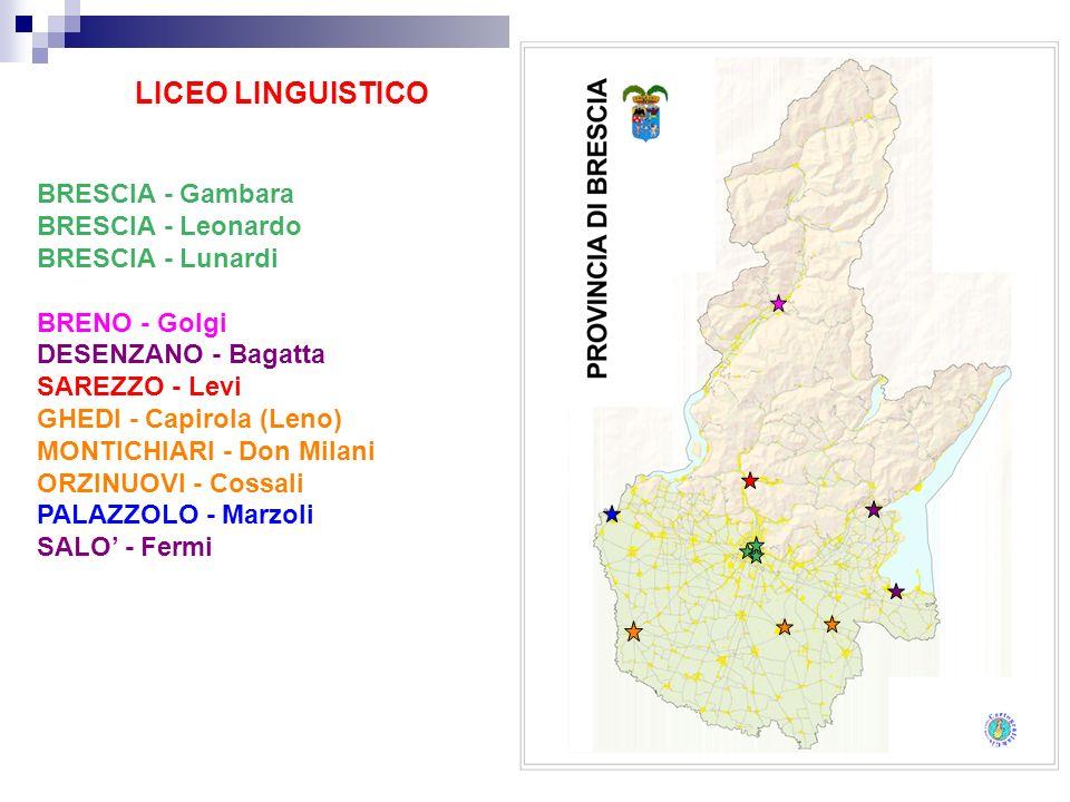 LICEO LINGUISTICO BRESCIA - Gambara BRESCIA - Leonardo