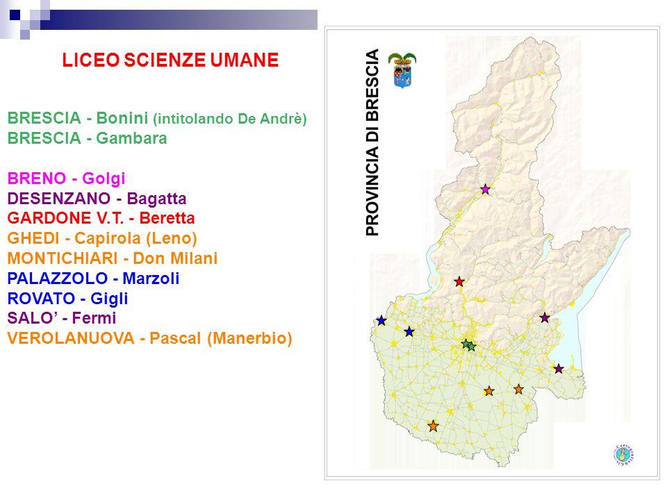 LICEO SCIENZE UMANE BRESCIA - Bonini (intitolando De Andrè)