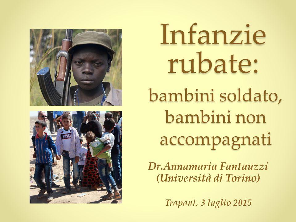 Dr.Annamaria Fantauzzi (Università di Torino) Trapani, 3 luglio 2015