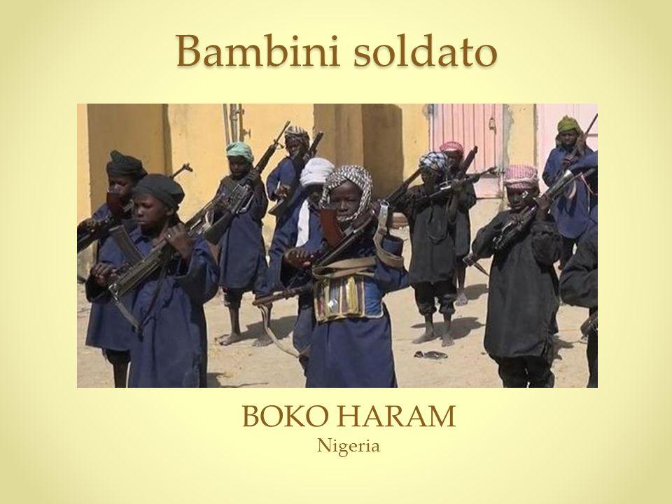 Bambini soldato BOKO HARAM Nigeria