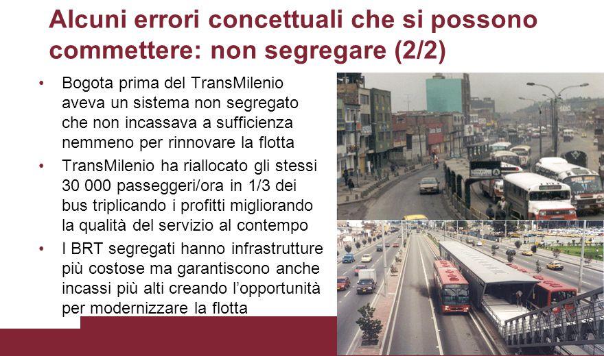 Alcuni errori concettuali che si possono commettere: non segregare (2/2)