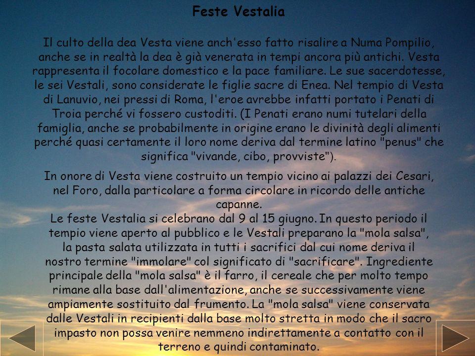 Feste Vestalia