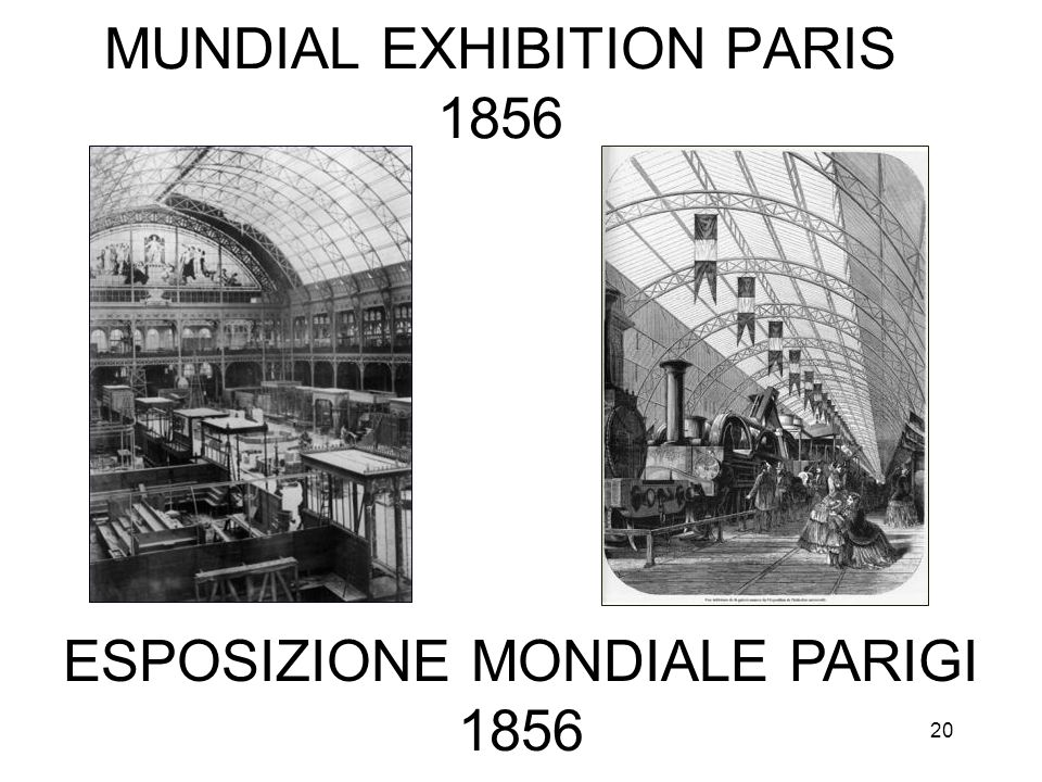 MUNDIAL EXHIBITION PARIS 1856
