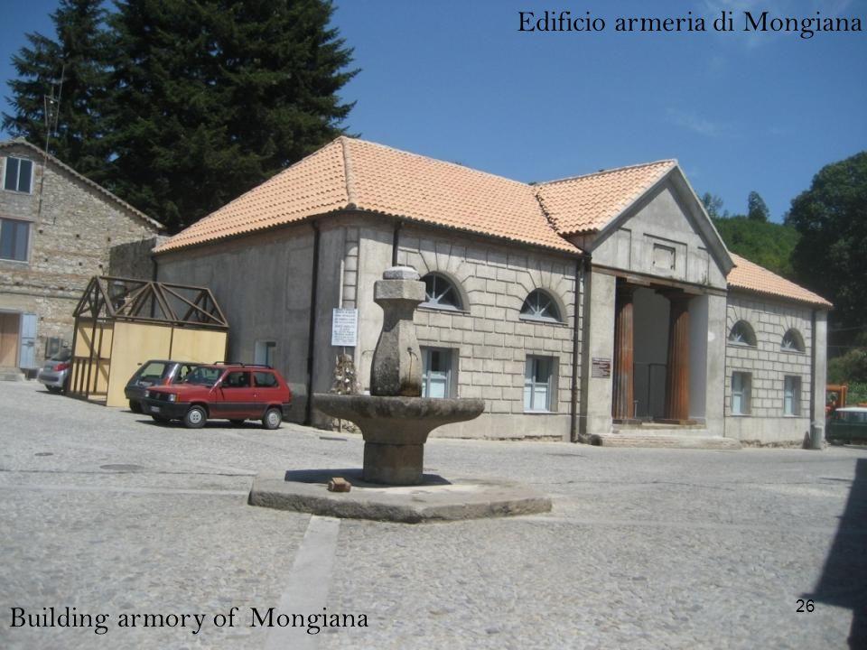Edificio armeria di Mongiana