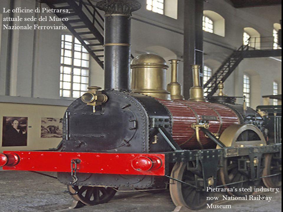 Le officine di Pietrarsa, attuale sede del Museo Nazionale Ferroviario